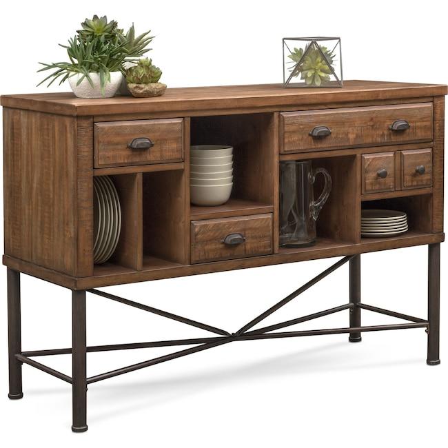 Dining Room Furniture - Bodhi Sideboard - Rustic Pine