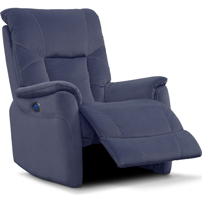 Living Room Furniture - Falcon Triple-Power Recliner