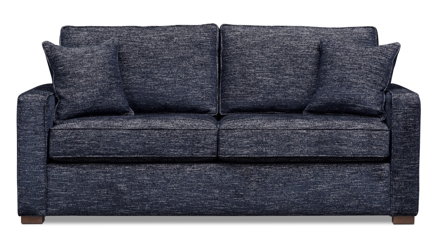Mayson 78 Quot Full Memory Foam Sleeper Sofa Navy Value