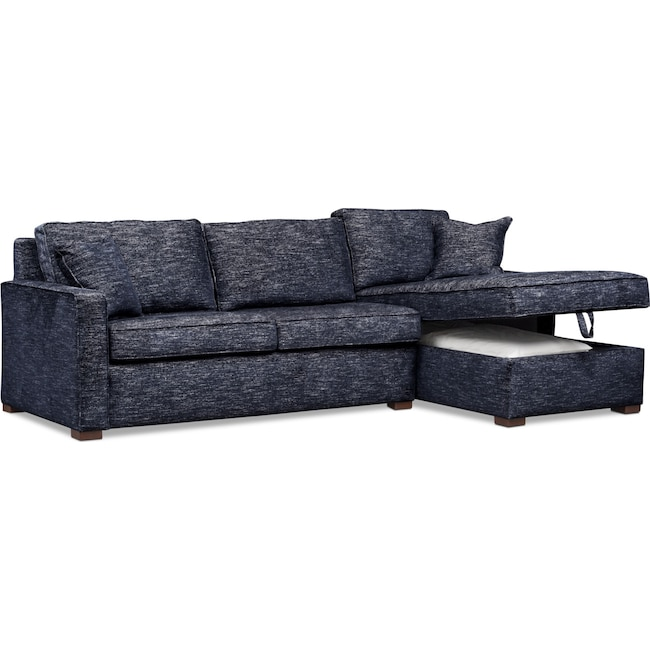 Mayson 2-Piece Sectional with Chaise | Value City Furniture and ...