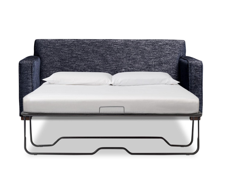 """Mayson 78"""" Full Memory Foam Sleeper Sofa - Navy"""