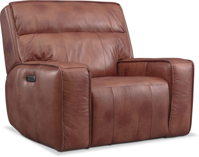 Living Room Furniture - Bradley Triple-Power Recliner