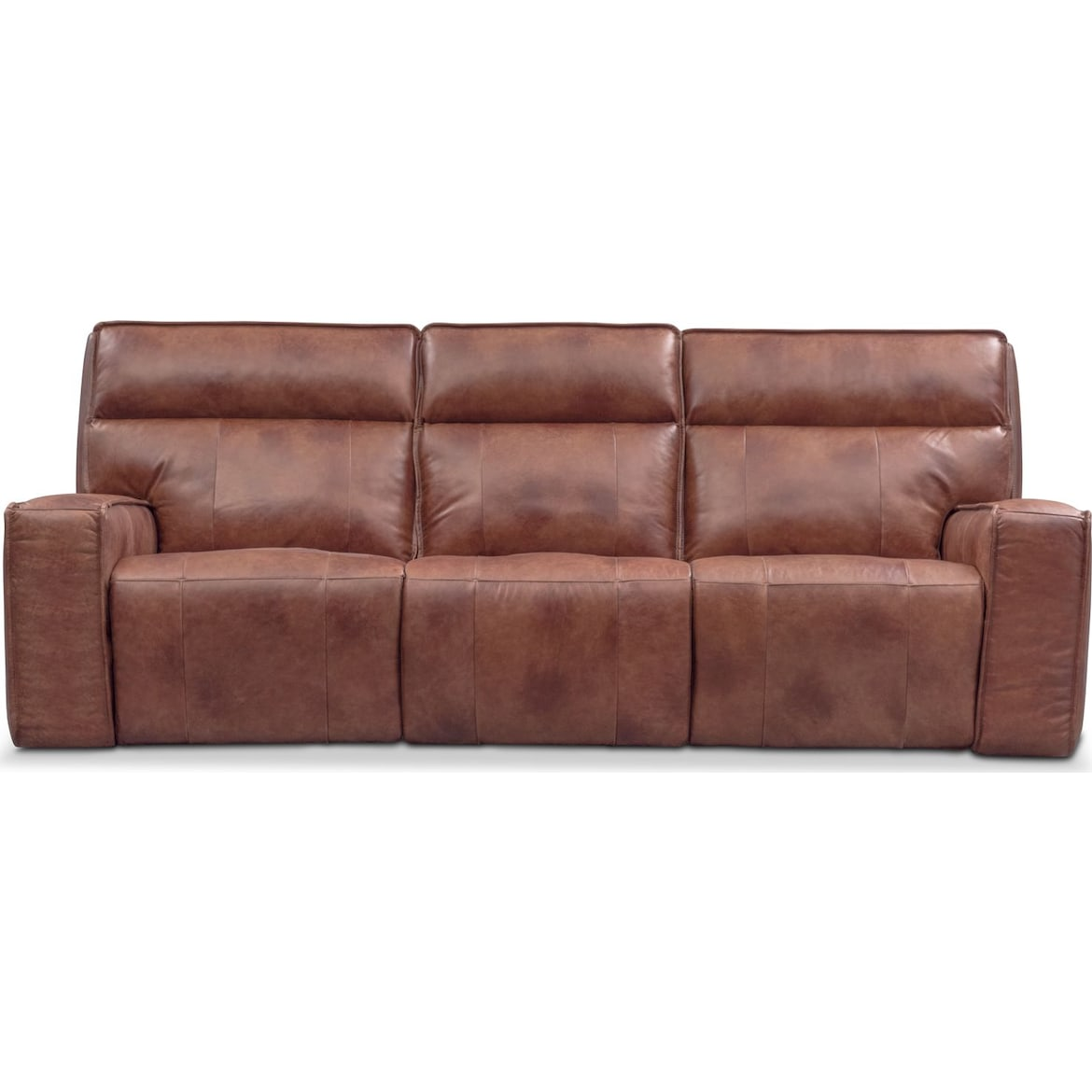 Bradley Triple Power Reclining Sofa Value City Furniture