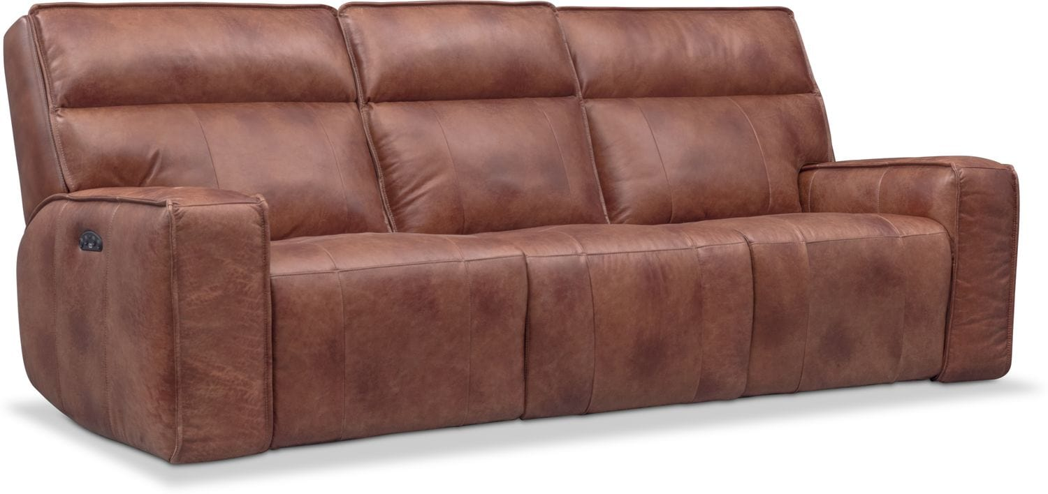 Bradley Triple Power Reclining Sofa ...