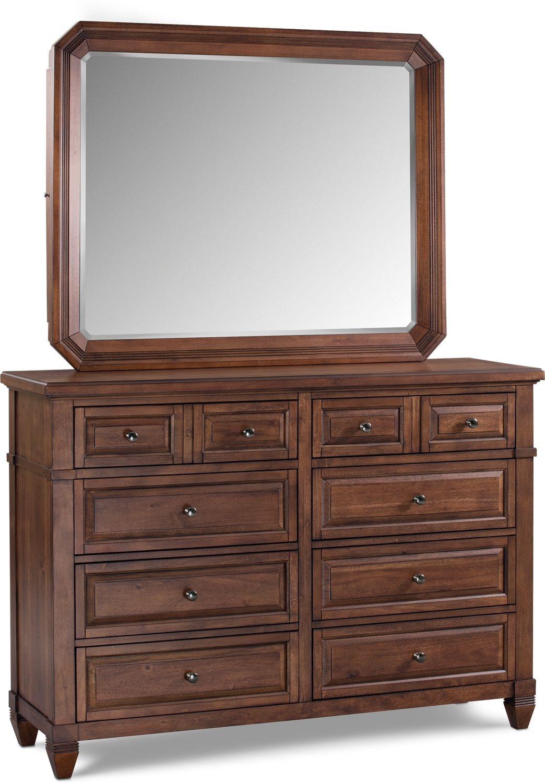 Bedroom Furniture - Rosalie Dresser and Mirror