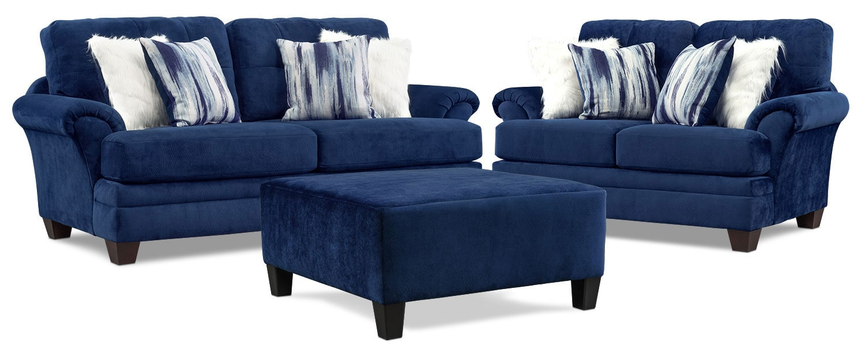 Pleasing Cordelle Sofa Loveseat And Ottoman Machost Co Dining Chair Design Ideas Machostcouk
