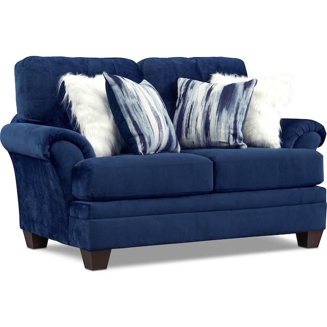 Living Room Furniture - Cordelle Loveseat