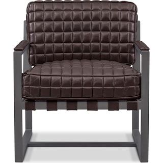 Winston Accent Chair - Brown