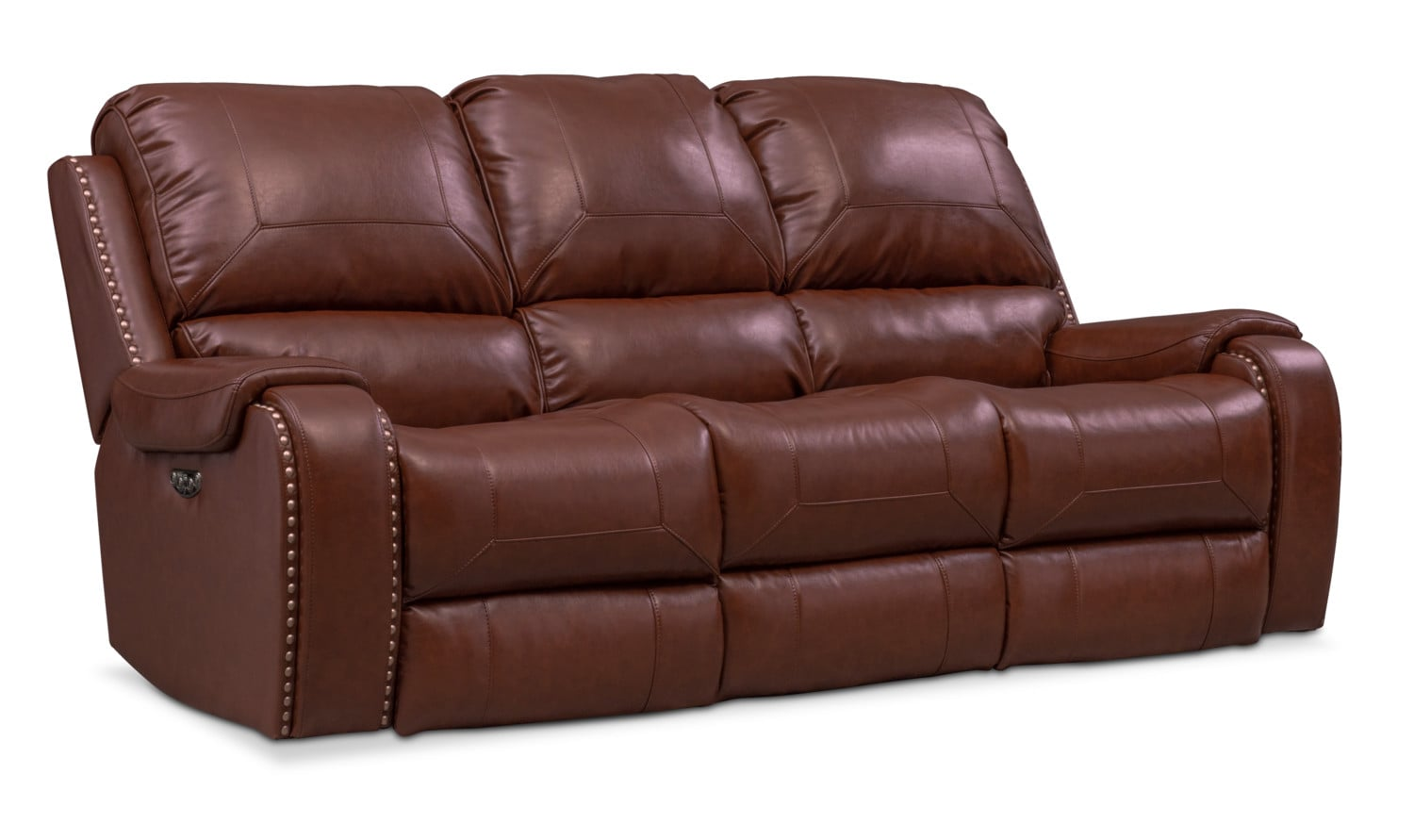 Living Room Furniture - Austin Dual-Power Reclining Sofa