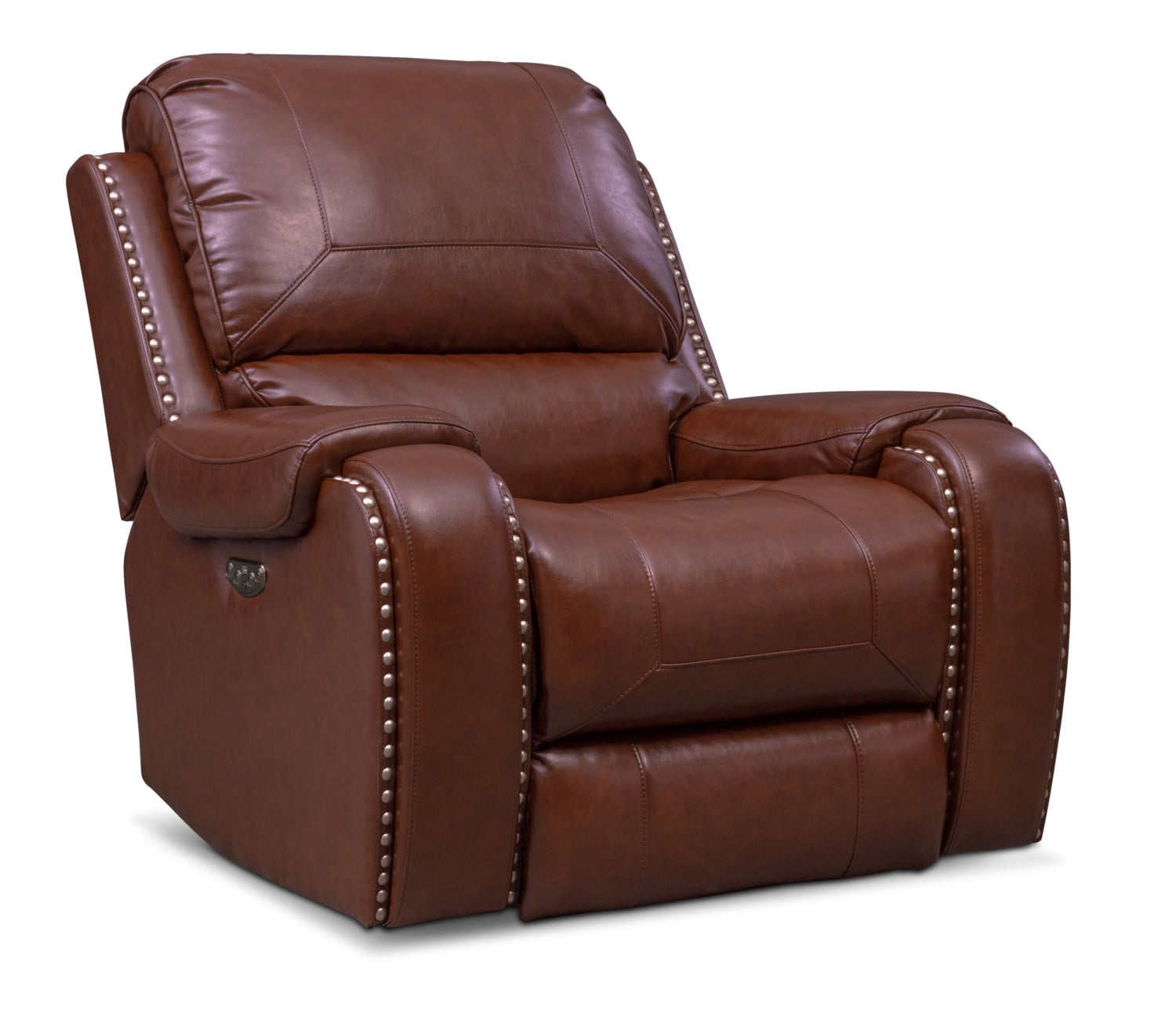 Living Room Furniture - Austin Dual Power Recliner