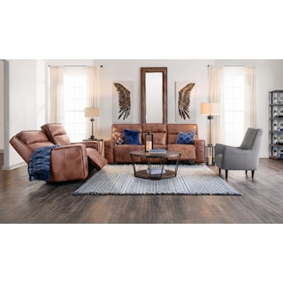 Bradley Triple Power Reclining Sofa