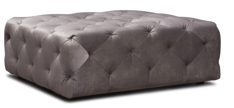 Living Room Furniture - Mackenzie Ottoman