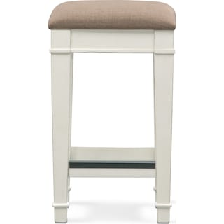 Waverly Stool - White