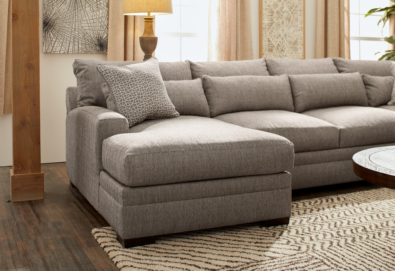 winston 4 piece sectional with chaise value city furniture and rh valuecityfurniture com
