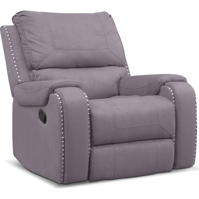 Living Room Furniture - Austin Manual Recliner