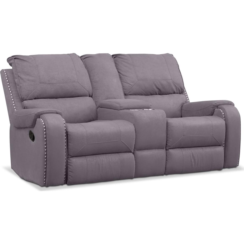 Austin Manual Reclining Sofa Loveseat And Recliner