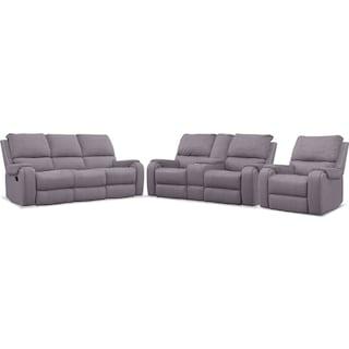 Austin Manual Reclining Sofa, Loveseat and Recliner