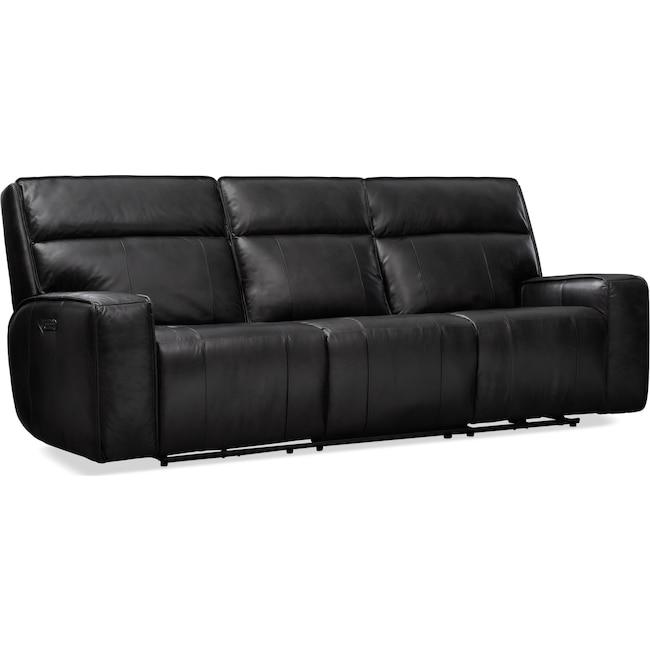 Living Room Furniture - Bradley Triple-Power Reclining Sofa