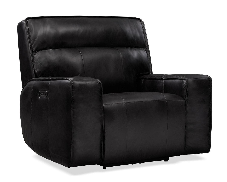 Living Room Furniture - Bradley Triple Power Recliner