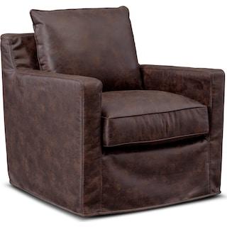 Eastwood Swivel Chair - Coffee