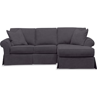Sawyer 2-Piece Slipcover Sectional with Loveseat and Chaise
