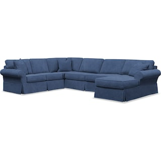 Sawyer 3-Piece Slipcover Sectional with Chaise