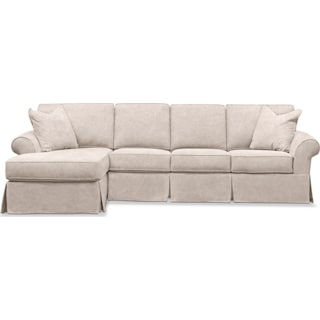 Sawyer 2-Piece Slipcover Sectional with Sofa and Chaise