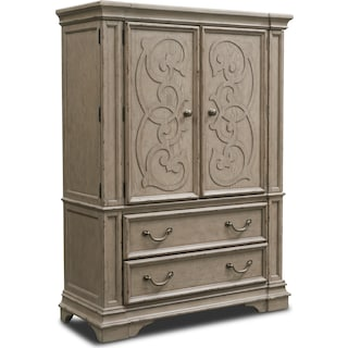 Chatelet Armoire - Antique Taupe