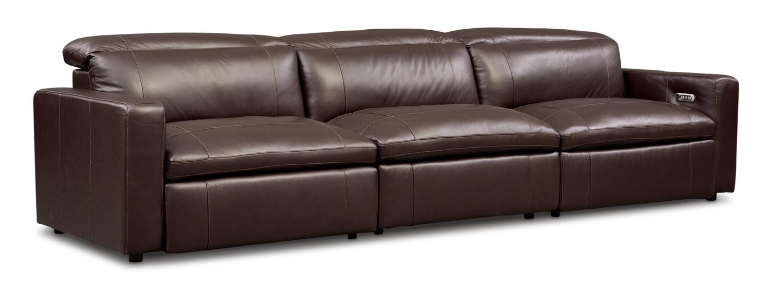 Living Room Furniture - Happy 3-Piece Dual-Power Reclining Sofa