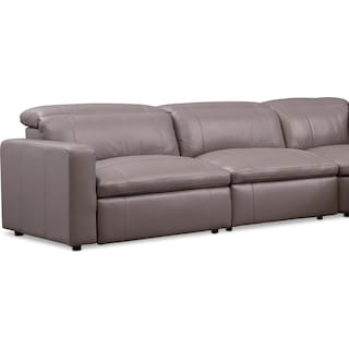 Happy 5-Piece Dual Power Reclining Sectional