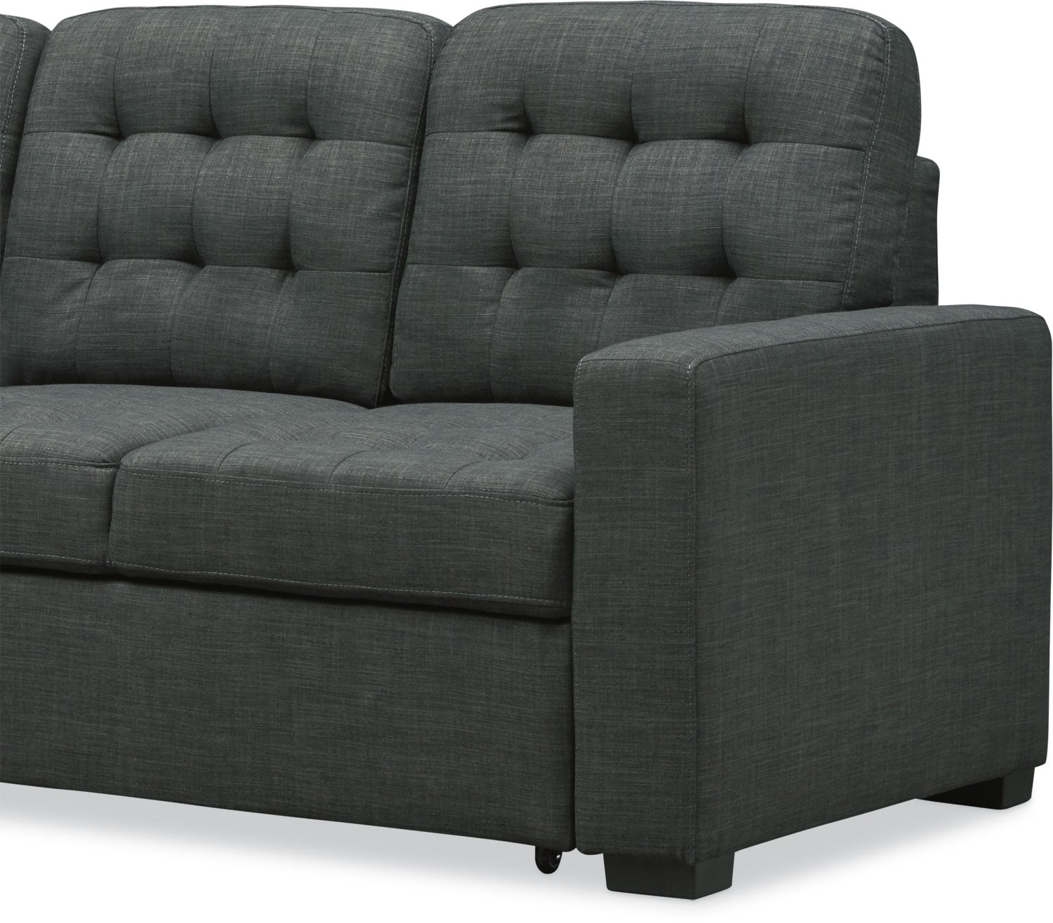 Chatman 2 Piece Sleeper Sectional With Chaise Value City