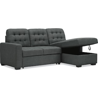 Chatman 2 Piece Sleeper Sectional With Chaise