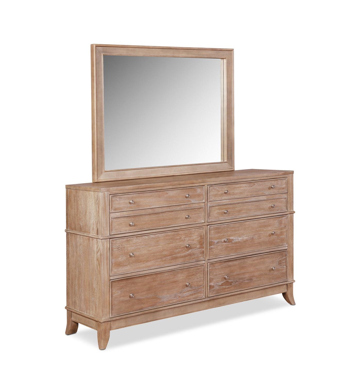 Bedroom Furniture - Hazel Dresser and Mirror