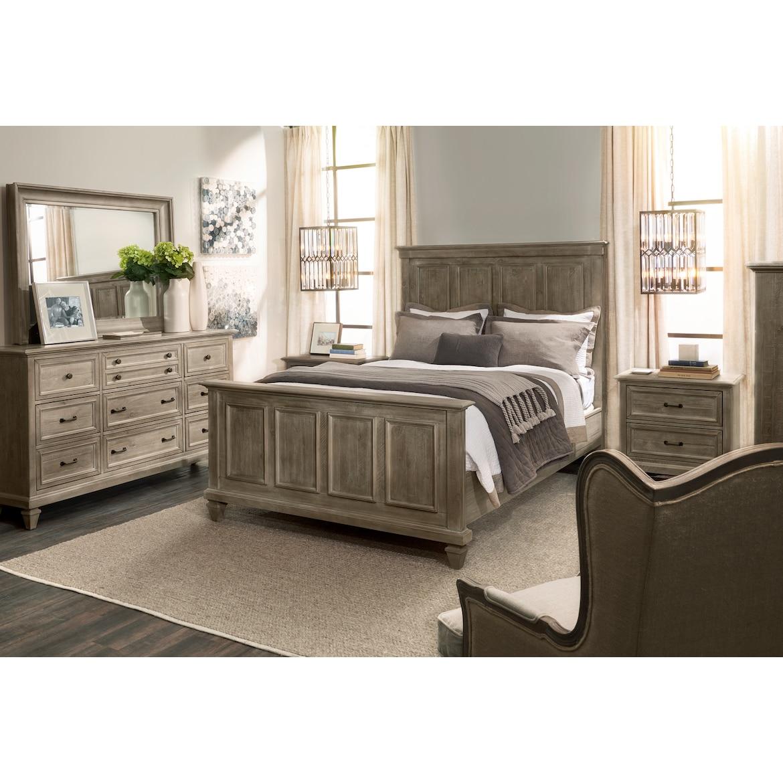 Harrison 5-Piece Bedroom Set with Dresser and Mirror