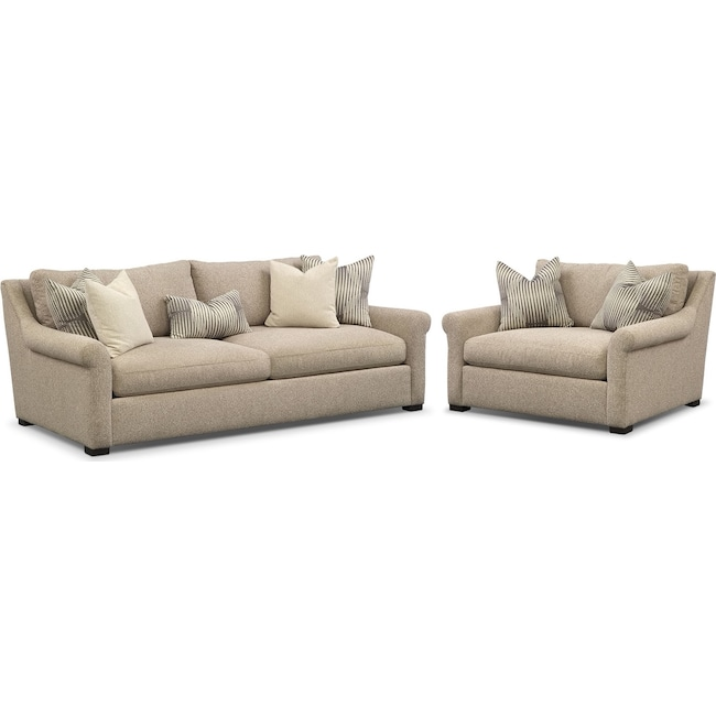Living Room Furniture Roberston Sofa And Chair A Half Set