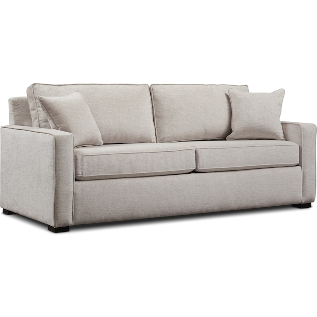 "Living Room Furniture - Mayson 88"" Full Sleeper Sofa"