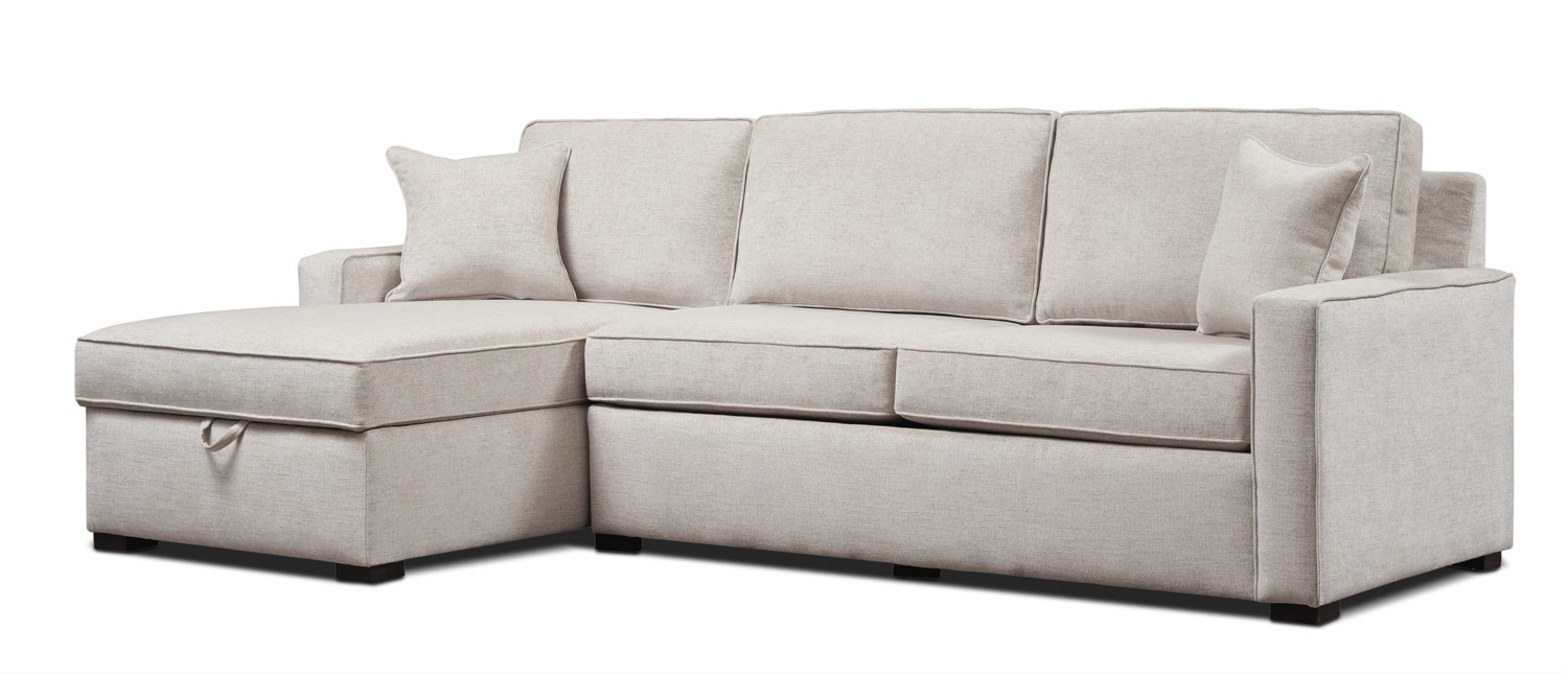 ... Mayson 2 Piece Sleeper Sectional