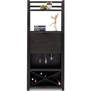 Carlton Bar Cabinet - Black