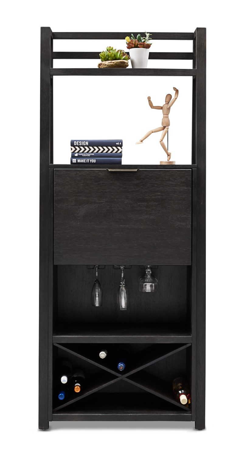... Carlton Bar Cabinet   Black