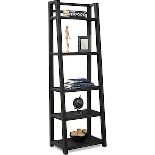 Carlton Leaning Bookcase