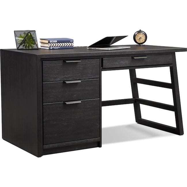 Home Office Furniture - Carlton Desk - Black