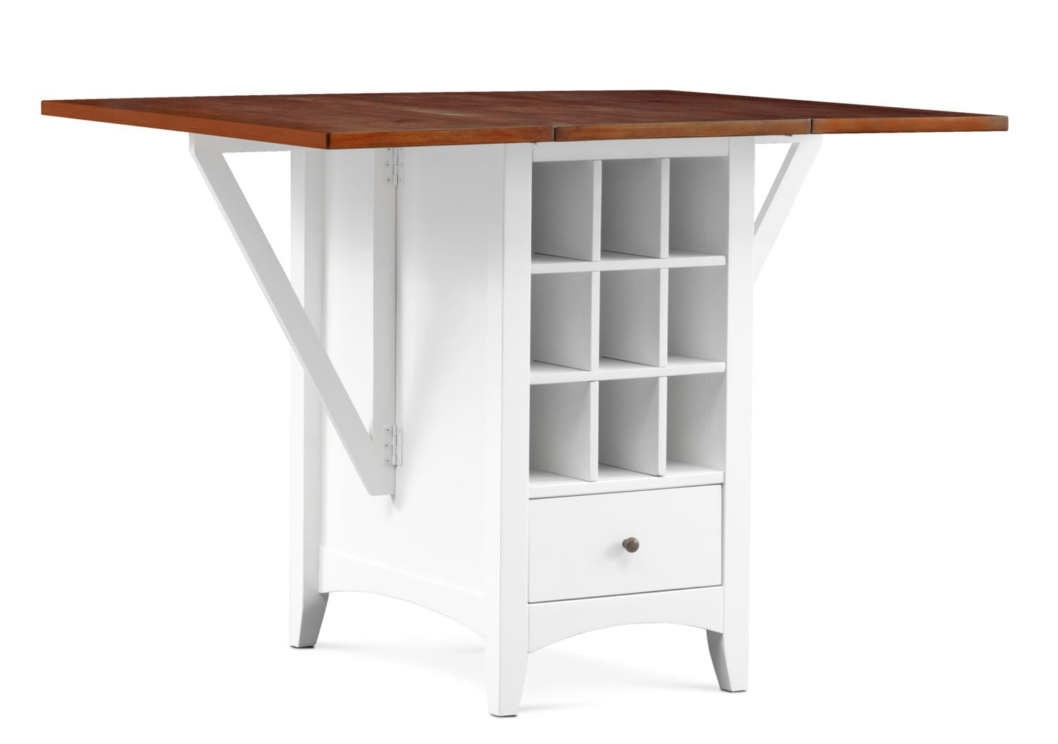 Dining Room Furniture   Porter Counter Height Island   Cherry