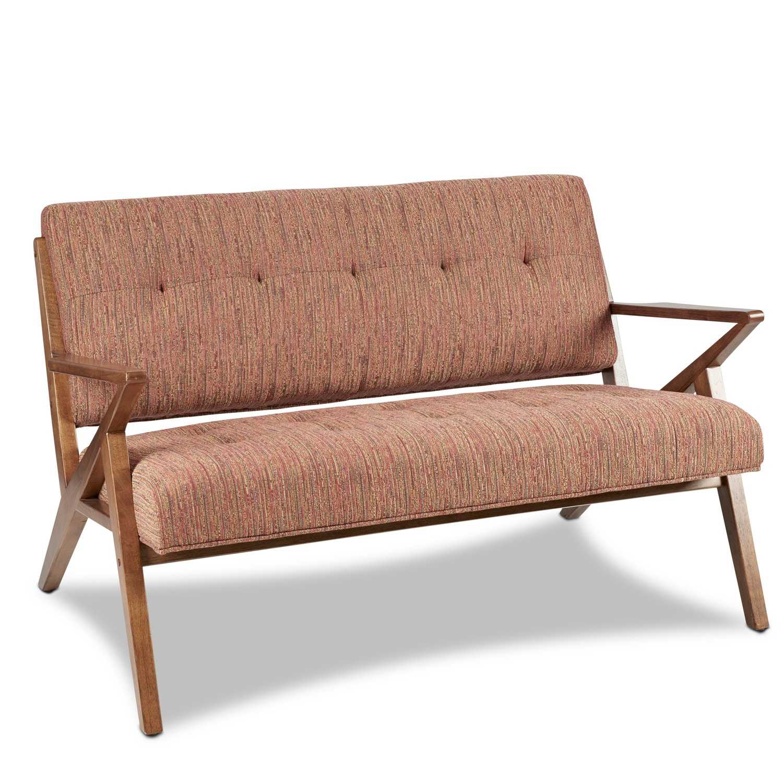 Living Room Furniture - Hudson Loveseat - Orange