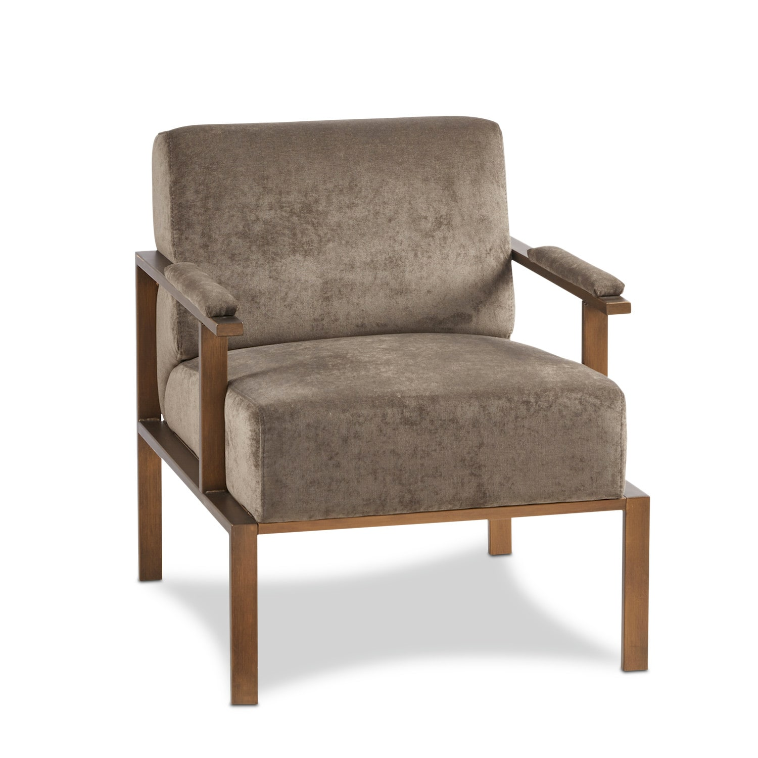 Accent and Occasional Furniture - Athens Accent Chair - Gray