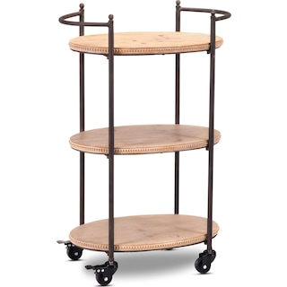 Addison Bar Cart - Natural