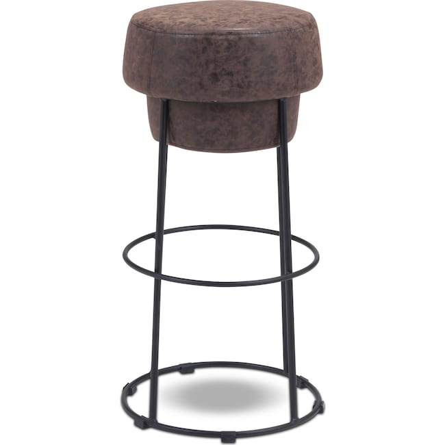 Accent and Occasional Furniture - Saddle Bar Stool - Brown