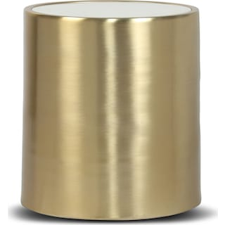 Emma Accent Table - Brass