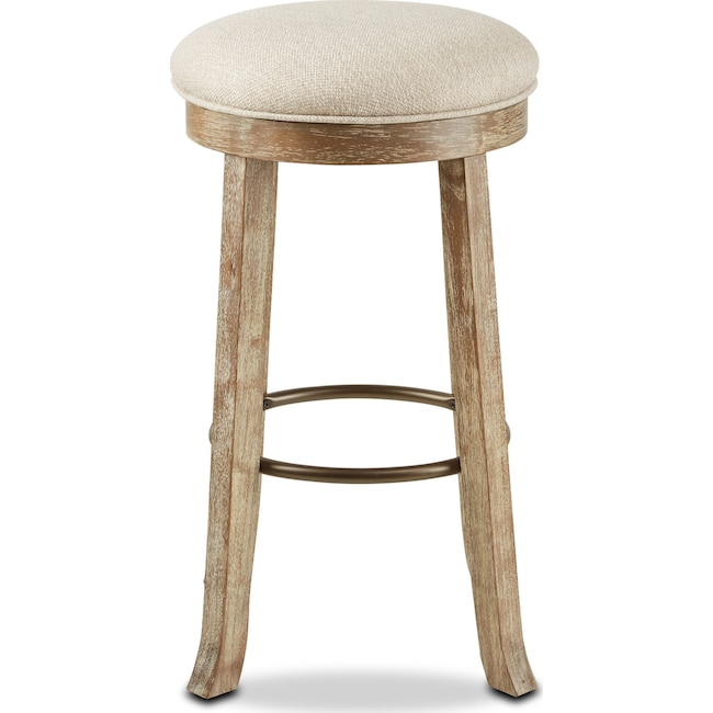 Dining Room Furniture - Anna Bar Stool - Beige