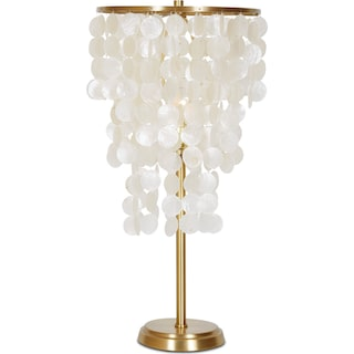 Gina Table Lamp Gold