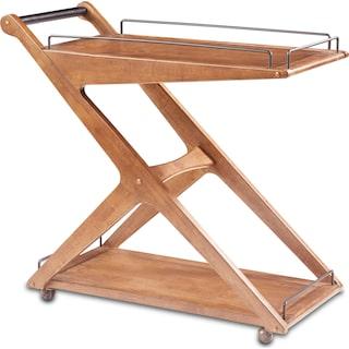 Hudson Bar Cart - Natural